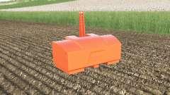 Fendt weight 2800 kg. color choice для Farming Simulator 2017