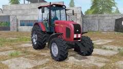 МТЗ-2022.3 с консолью фронтального погрузчика для Farming Simulator 2017
