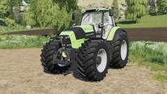 Deutz-Fahr Serie 7 TTV Agrotron with new tire для Farming Simulator 2017