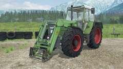 Fendt Favorit 611 LSA Turbomatik E front loader для Farming Simulator 2013
