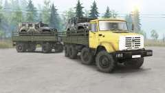 ЗиЛ-133ГМ 8x8 для Spin Tires
