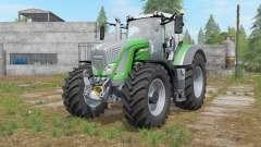 Fendt 900 Vario chrome front grill для Farming Simulator 2017