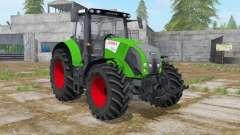 Claas Axion 820 islamic green для Farming Simulator 2017