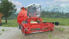 Bizon Rekord Z058 coral red для Farming Simulator 2013