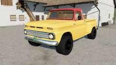 Chevrolet C10 Stepside 1966 для Farming Simulator 2017