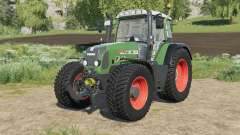 Fendt 818 Vario TMS wheels options для Farming Simulator 2017