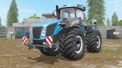 New Holland T9-series with drilling tires для Farming Simulator 2017