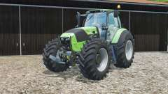 Deutz-Fahr 7250 TTV grown-end loader console для Farming Simulator 2015