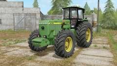 John Deere 4755 may green для Farming Simulator 2017