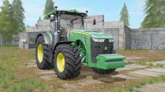 John Deere 8R-series revamped dirt textures для Farming Simulator 2017