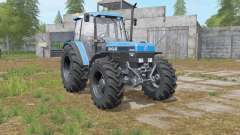 New Holland 8340 more exhaust smoke для Farming Simulator 2017