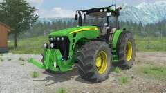 John Deere 8530 suspension axis wheel steering для Farming Simulator 2013