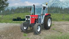 Massey Ferguson 390 added front counterweight для Farming Simulator 2013