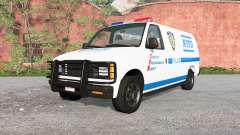 Gavril H-Series NYPD skin v1.1 для BeamNG Drive