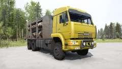 КамАЗ-65225 ярко-жёлтый для MudRunner