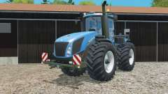 New Holland T9.565 replaced exhaust pipe для Farming Simulator 2015