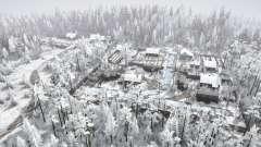 Деревенские просторы зима для MudRunner