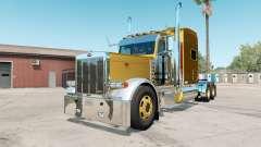 Peterbilt 379X satin sheen gold для American Truck Simulator