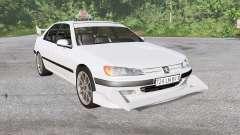 Peugeot 406 Taxi для BeamNG Drive