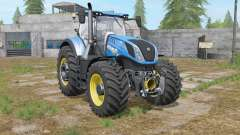 New Holland T7-series with a few modifications для Farming Simulator 2017