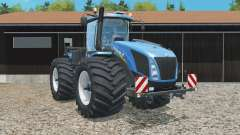 New Holland T9.565 wider tires для Farming Simulator 2015