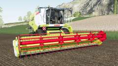 Claas Lexion 700 & Vario для Farming Simulator 2017