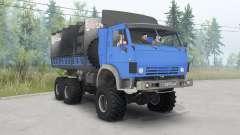 КамАЗ-4310 ярко-синий для Spin Tires