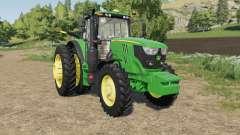 John Deere 6M-series four engines для Farming Simulator 2017