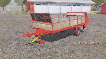 Krone Optimat 5.5 для Farming Simulator 2013