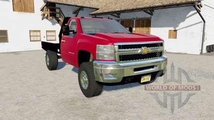 Chevrolet Silverado 2500 HD Flatbed 2010  для Farming Simulator 2017