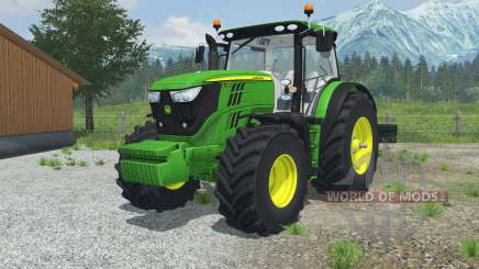 John Deere 6170R & 6210R для Farming Simulator 2013