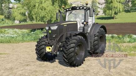 John Deere 6R-series Black Edition FL для Farming Simulator 2017