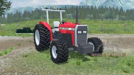 Massey Ferguson 240 4WD для Farming Simulator 2013