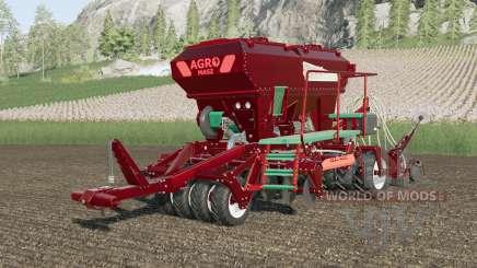 Agro-Masz Salvis 3800 metallic multicolor для Farming Simulator 2017