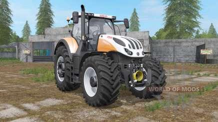 Steyr Terrus 6000 CVT 6 new engine tuning для Farming Simulator 2017