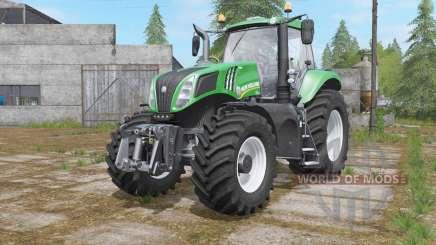 New Holland T8-series Green Edition для Farming Simulator 2017