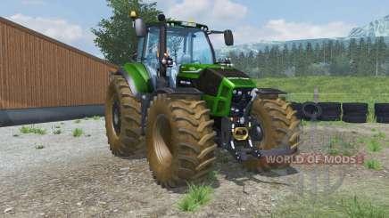 Deutz-Fahr 7250 TTV Agrotron dirt texture для Farming Simulator 2013