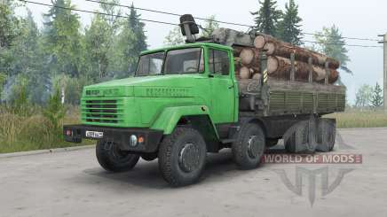 КрАЗ-7133Н4 для Spin Tires