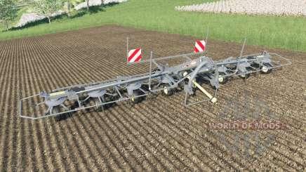 Kuhn GF 8712 multicolor для Farming Simulator 2017
