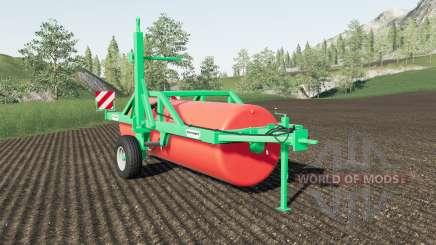 Duvelsdorf Green Roller Vario expanded для Farming Simulator 2017