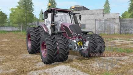Valtra N-series twin wheels для Farming Simulator 2017