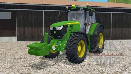 John Deere 6150M islamic green для Farming Simulator 2015