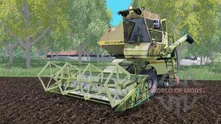 СК-5 Нива с навесной жаткой для Farming Simulator 2015