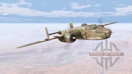 North American B-25 Mitchell v5.5 для BeamNG Drive