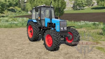 МТЗ-1221 Беларус выбор цвета у кузова и колёс для Farming Simulator 2017