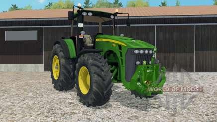 John Deere 8530 ploughing spec для Farming Simulator 2015