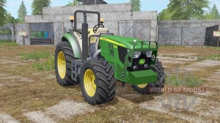 John Deere 5085M & H240 для Farming Simulator 2017
