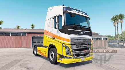 Volvo FH16 Globetrotter XL для American Truck Simulator