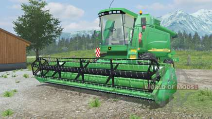 John Deere 9640 WTS для Farming Simulator 2013