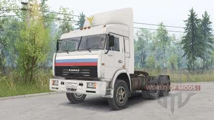 КамАЗ-54115 Дальнобойщики для Spin Tires